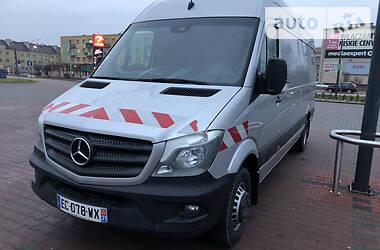 Характеристики Mercedes-Benz Sprinter 519 груз. Фургон