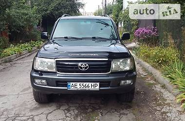 Цены Toyota Land Cruiser 100 Газ/бензин