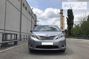 Цены Toyota Sienna Газ/бензин