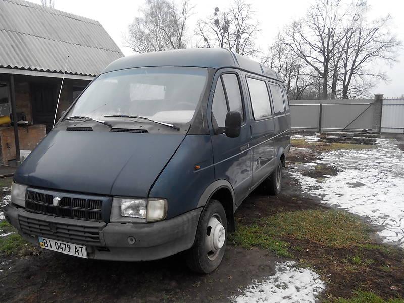 ГАЗ 2705 Газель 2001 року