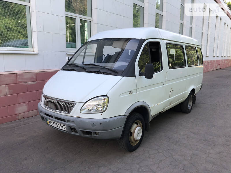 ГАЗ 32213 СПГ