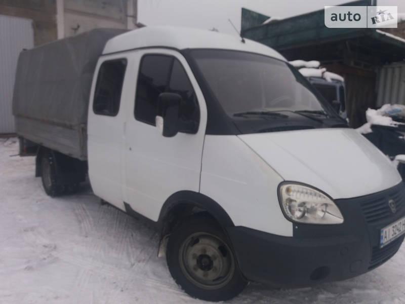 ГАЗ 33022 2007 года