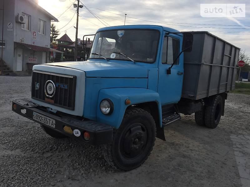 ГАЗ 3307 1990 года