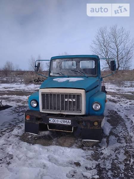 ГАЗ 3307 1985 года