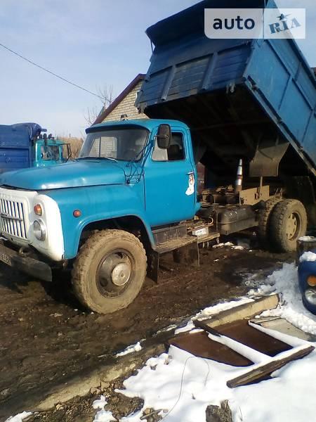 ГАЗ 53 груз. 1989 года