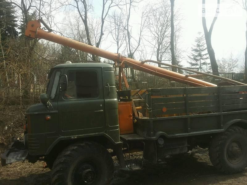 ГАЗ 66 1988 года