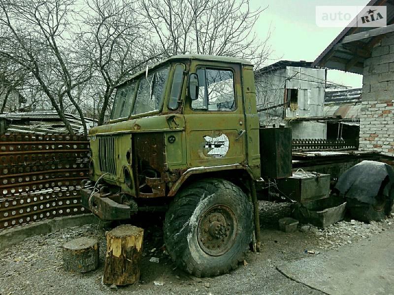 ГАЗ 66 1980 года