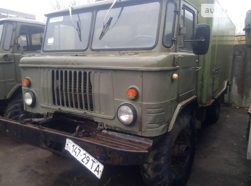 ГАЗ 66 1983 года