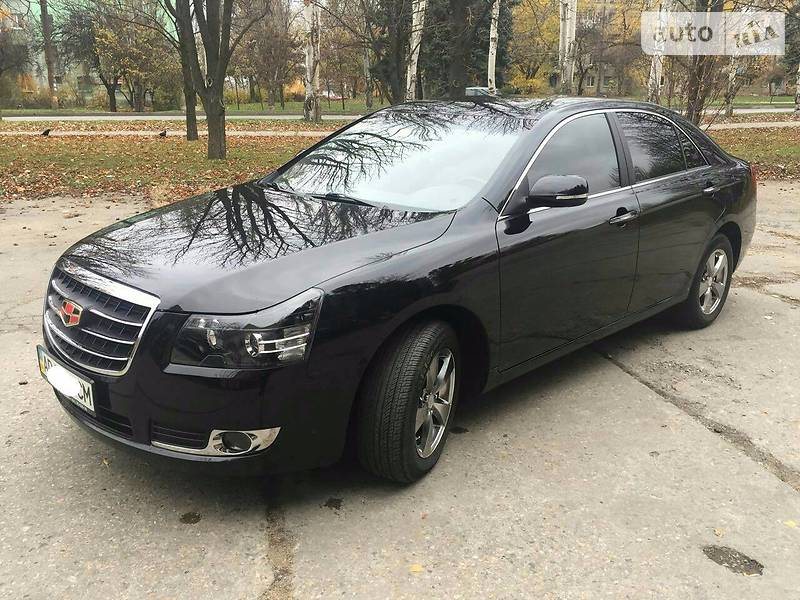 Geely Emgrand 8 2013 года