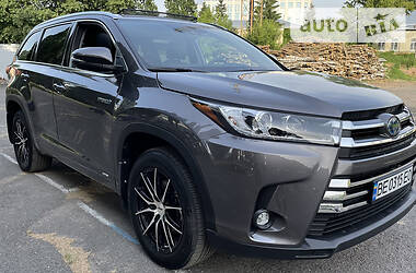 Цены Toyota Highlander Гибрид
