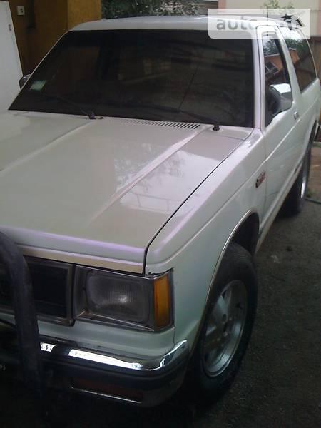 GMC Jimmy 1988 года