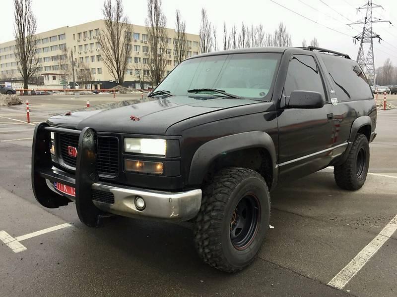 GMC Yukon 1995 года