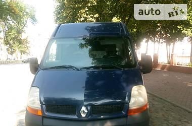 Характеристики Renault Master груз. Грузовик