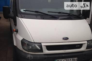 Характеристики Ford Transit груз. Грузовик