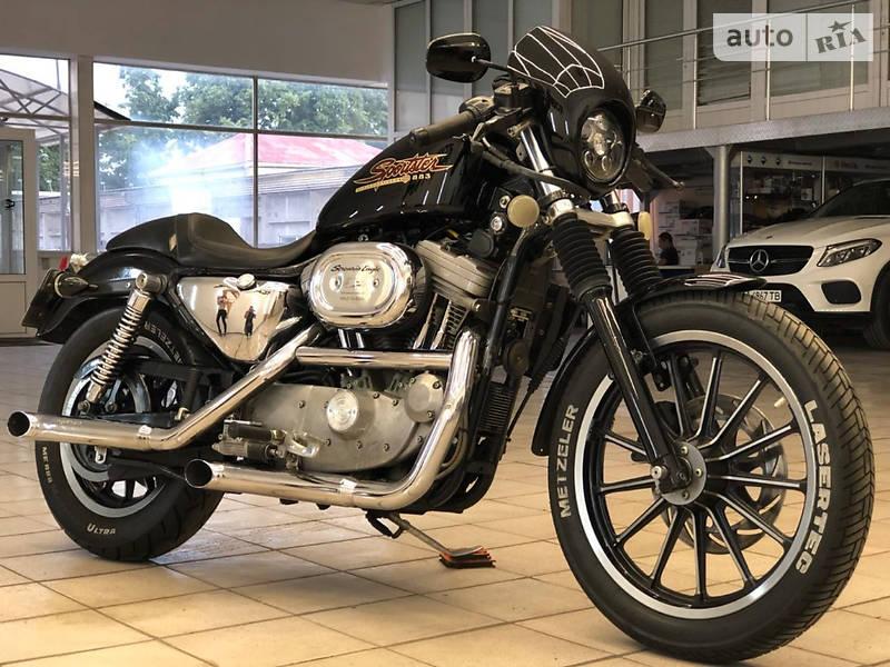 Мотоцикл Кастом Harley-Davidson 1200 Sportster