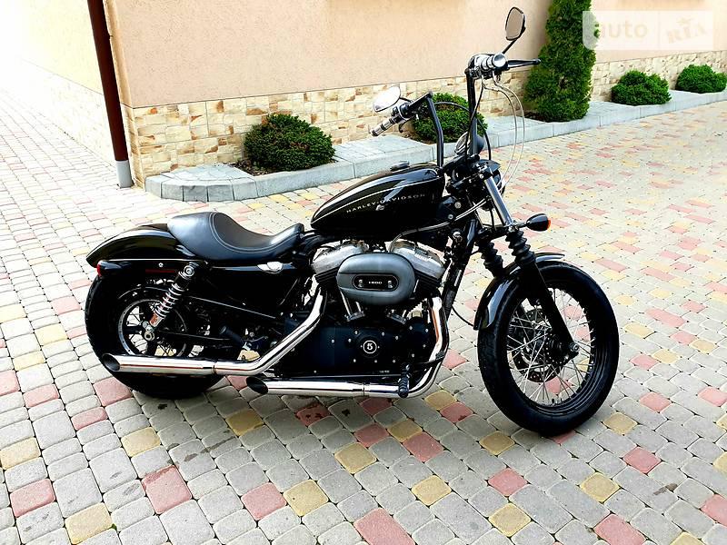 Мотоцикл Чоппер Harley-Davidson 1200N Sportster Nightster XL