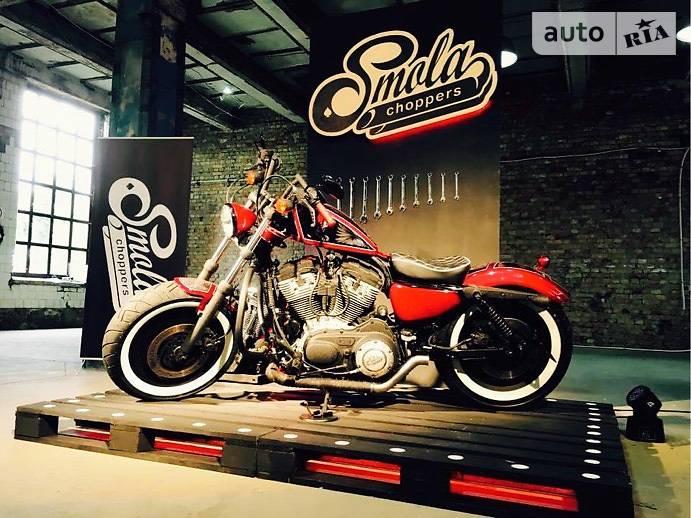 Мотоцикл Чоппер Harley-Davidson 883 Sportster Custom