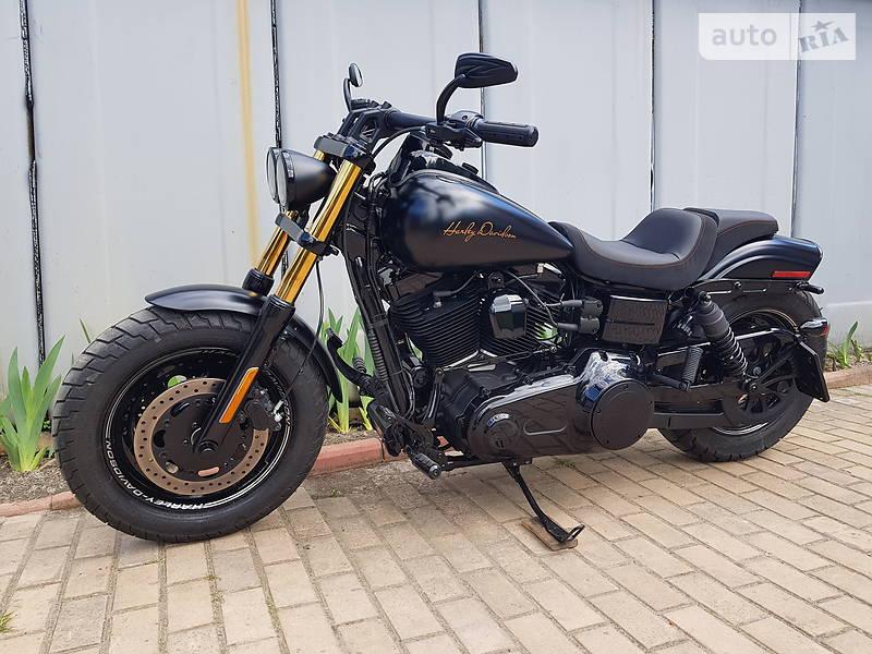 Мотоцикл Кастом Harley-Davidson Dyna Fat Bob
