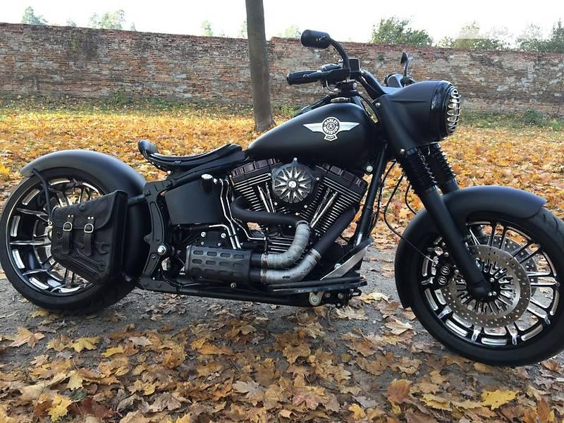 Мотоцикл Кастом Harley-Davidson Fat Boy