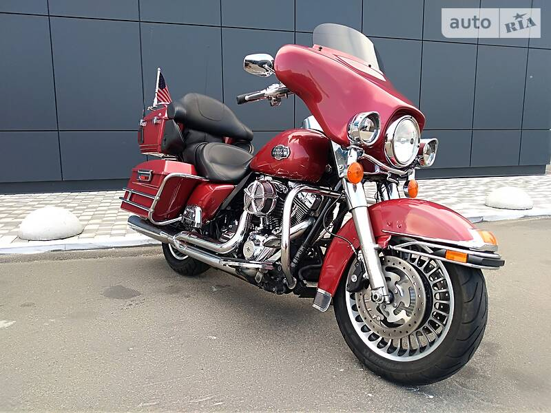 Мотоцикл Чоппер Harley-Davidson FLHTCU Ultra Classic Electra Glide