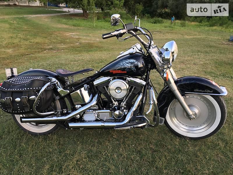 Мотоцикл Чоппер Harley-Davidson Heritage Softail