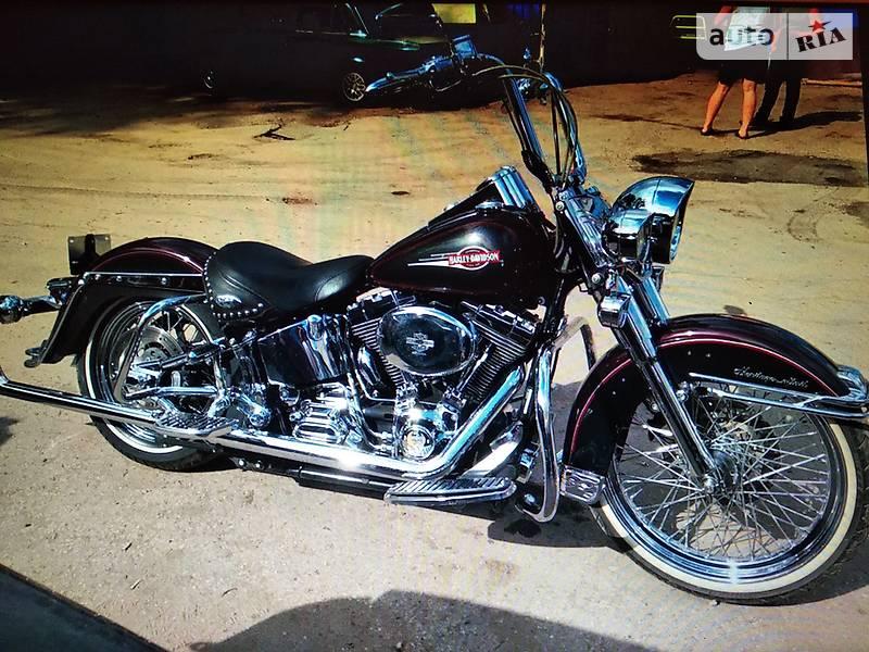 Мотоцикл Чоппер Harley-Davidson Softail Deluxe
