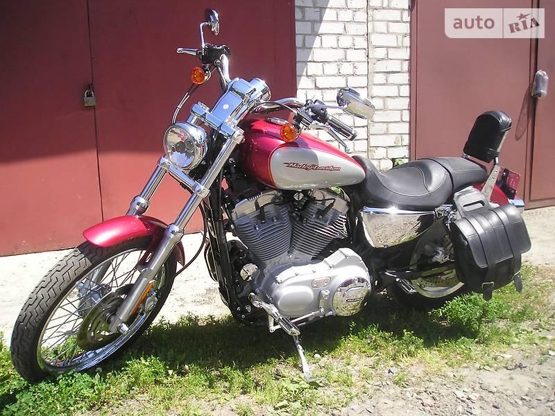 Мотоцикл Кастом Harley-Davidson Sportster