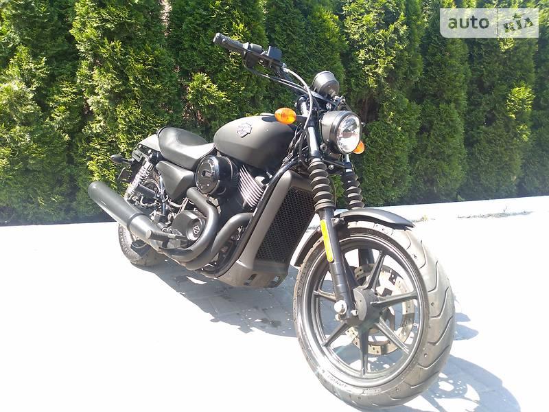 Мотоцикл Чоппер Harley-Davidson Street 750