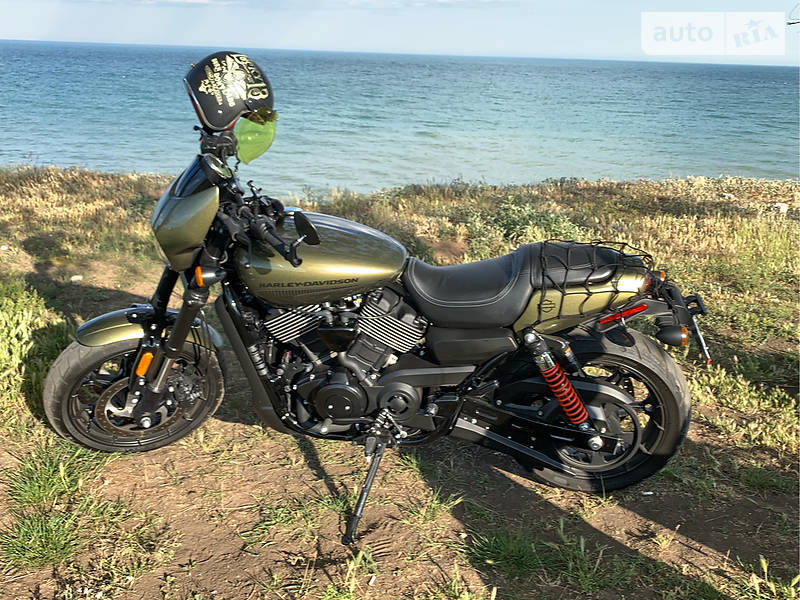 Мотоцикл Кастом Harley-Davidson Street 750