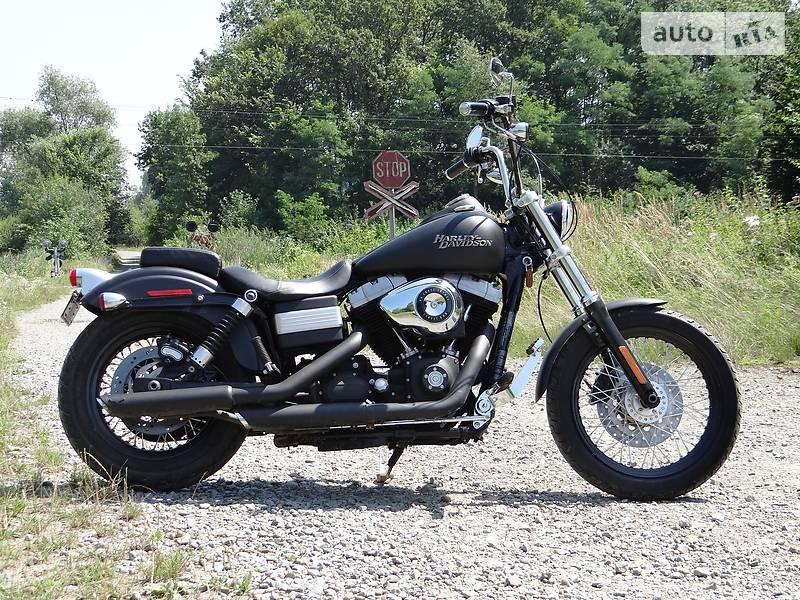 Мотоцикл Чоппер Harley-Davidson Street Bob