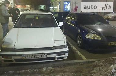 Honda Accord ca1 1989