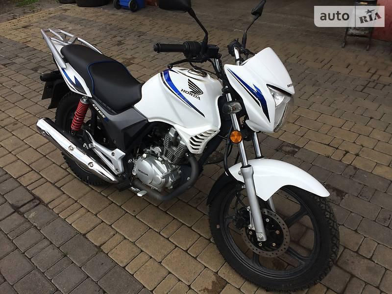 Мотоцикл Классик Honda CB 125