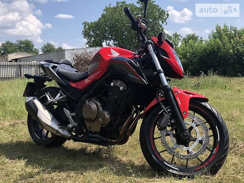 Мотоцикл Без обтекателей (Naked bike) Honda CB 500F
