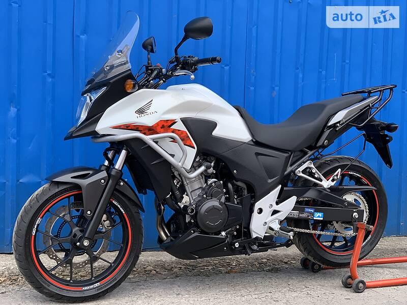 Мотоцикл Внедорожный (Enduro) Honda CB 500X