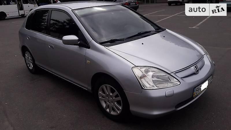 Honda Civic 2002 года