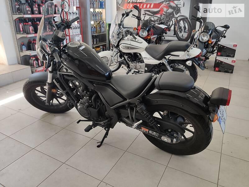 Мотоцикл Классик Honda Rebel