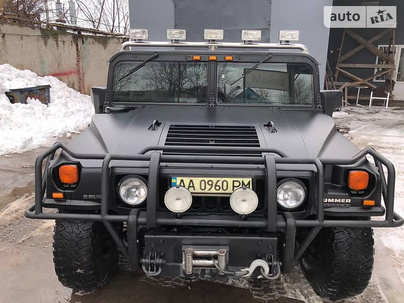 Hummer H1 2001 года