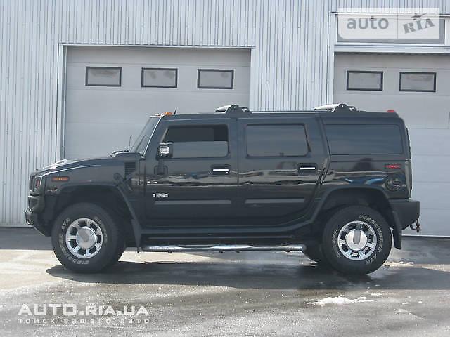 Hummer H2 2007 року