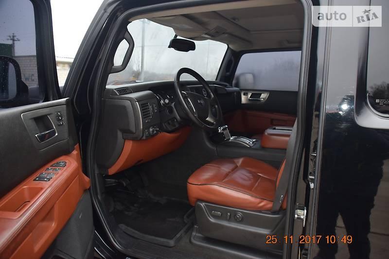 Hummer H2 2008 года