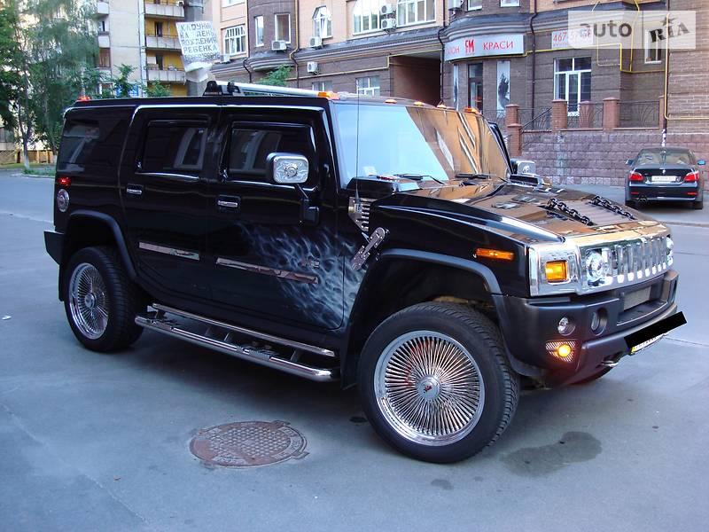 Hummer H2 2004 года