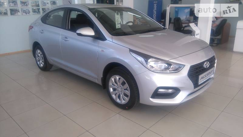 Hyundai Accent 2017 року