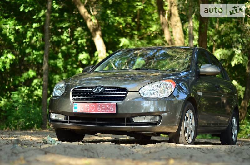 Hyundai Accent 2008 года