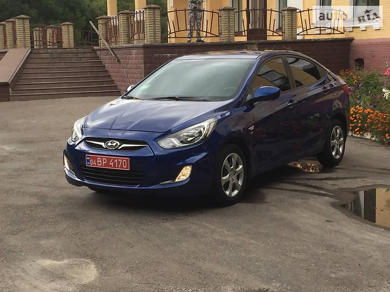 Hyundai Accent 2012 года