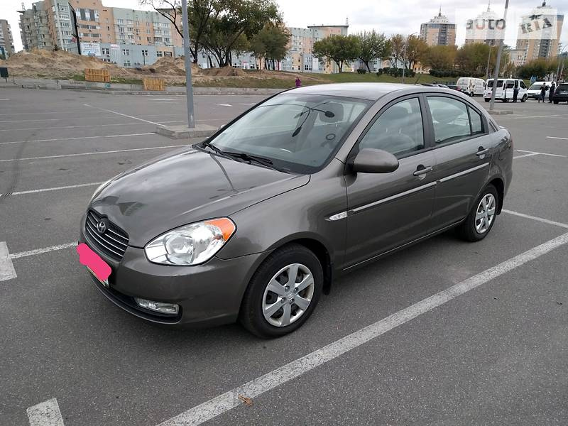 Hyundai Accent 2008 року