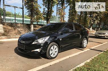 Hyundai Accent solaris 2016