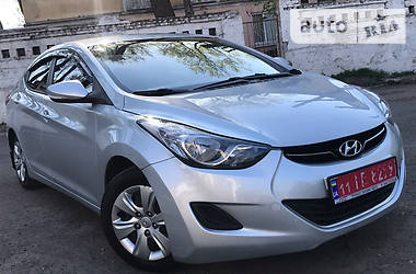 Hyundai Elantra 1.6 Na MEXU 2013