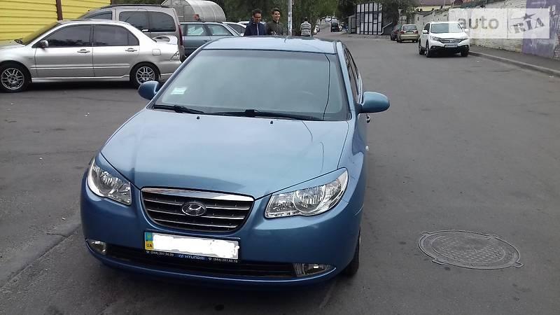 Hyundai Elantra 2007 года