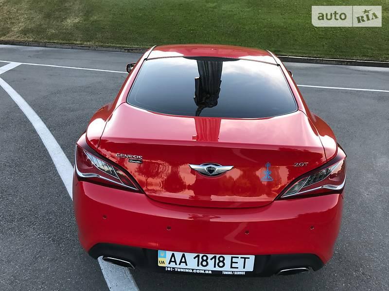 Hyundai Genesis Coupe 2012 року