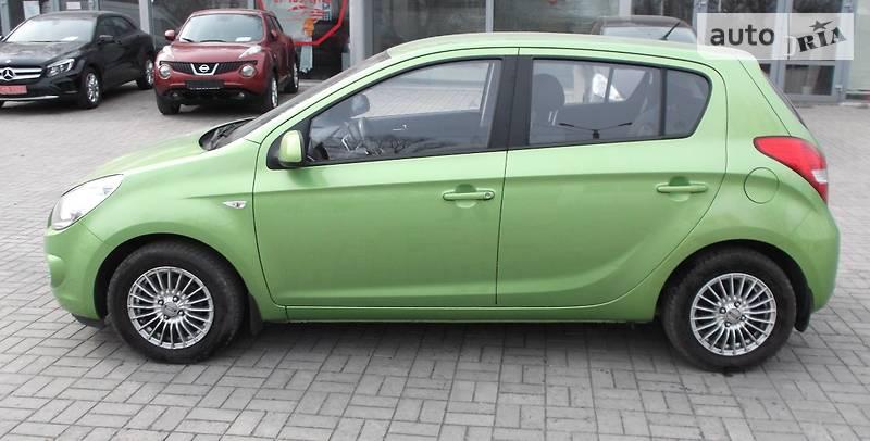 Hyundai i20 2012 года