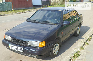 Hyundai Pony Excel 1991